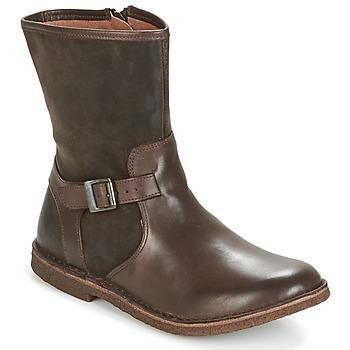 Schuhe Damen Boots Kickers CREEK Braun