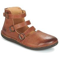 Schuhe Damen Ballerinas Kickers HONORINE Camel