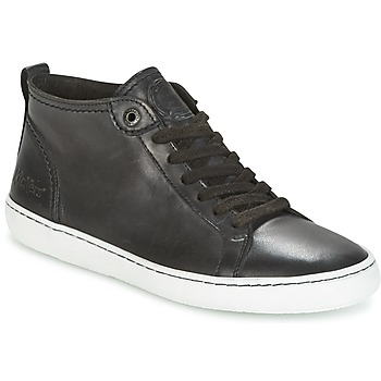 Schuhe Damen Sneaker Low Kickers REVIEW Schwarz