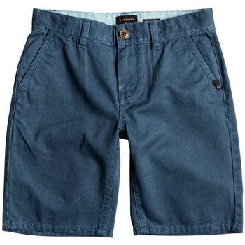 Kleidung Jungen Shorts / Bermudas Quiksilver Everyday Chino Short Jr Blau