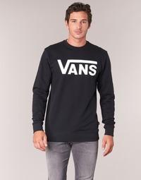 Kleidung Herren Sweatshirts Vans VANS CLASSIC CREW Schwarz
