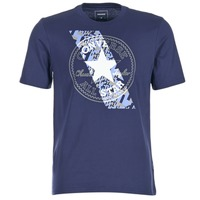 Kleidung Herren T-Shirts Converse CHUCKPATCH CONTRAST SLASH TEE Marine