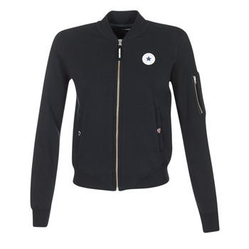 Kleidung Damen Jacken / Blazers Converse CORE MA-1 BOMBER Schwarz