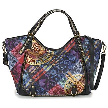 Taschen Damen Handtasche Desigual BOLS_ROTTERDAM TRANSFLORES Schwarz / Multifarben