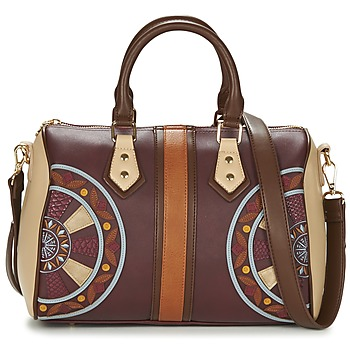 Taschen Damen Umhängetaschen Desigual BOLS_BOWLING CELIA Braun / Bordeaux