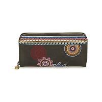 Taschen Damen Portemonnaie Desigual MONE_FIONA AMBER Schwarz / Multifarben