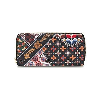 Taschen Damen Portemonnaie Desigual MONE_MARIA RETRO FRESH Schwarz / Multifarben