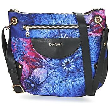 Taschen Damen Umhängetaschen Desigual BOLS_BROOKLYN CARLIN Schwarz / Blau