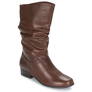Schuhe Damen Klassische Stiefel Spot on LAVAS Camel