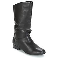 Schuhe Damen Klassische Stiefel Spot on DIURO Schwarz
