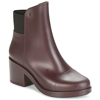 Schuhe Damen Low Boots Melissa ELASTIC BOOTS Bordeaux