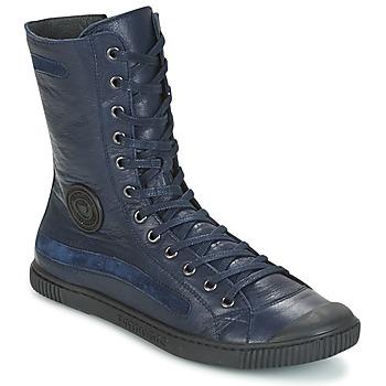 Schuhe Damen Boots Pataugas BASIC Marine
