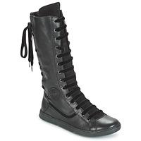 Schuhe Damen Klassische Stiefel Pataugas JINA Schwarz