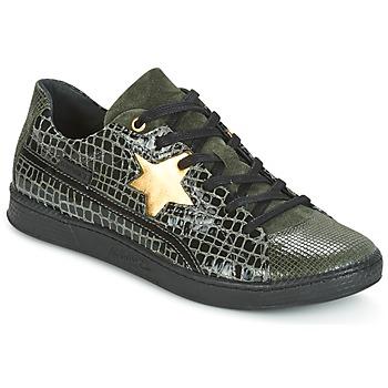 Schuhe Damen Sneaker Low Pataugas JOIA Grün / Grau