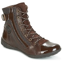 Schuhe Damen Sneaker High Pataugas NOUR Braun