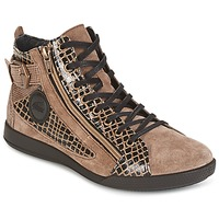 Schuhe Damen Sneaker High Pataugas PALME Beige
