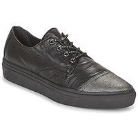 Schuhe Damen Sneaker Low Pataugas YAK Schwarz / Silbern