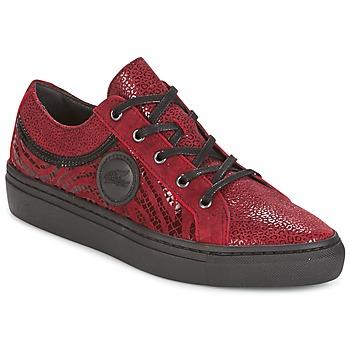 Schuhe Damen Sneaker Low Pataugas YORK Rot