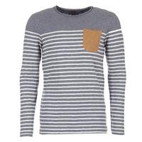 Kleidung Herren Langarmshirts Le Temps des Cerises VINCENT Grau