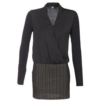 Kleidung Damen Kurze Kleider Le Temps des Cerises MALAYA Schwarz