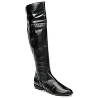 Schuhe Damen Kniestiefel So Size HOLA Schwarz