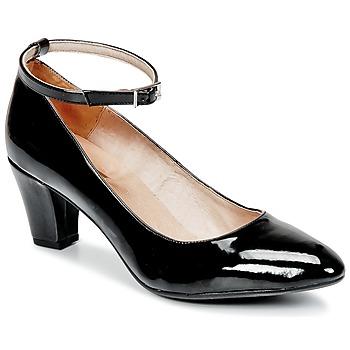 Schuhe Damen Pumps So Size HOLO Schwarz