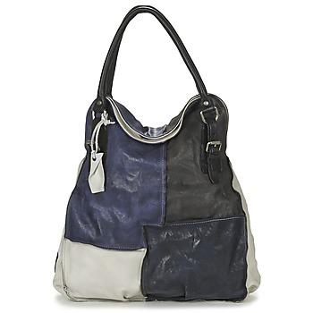 Taschen Damen Handtasche Airstep / A.S.98 LOUZI Blau / Schwarz