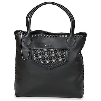 Taschen Damen Handtasche Replay DOPOI Schwarz