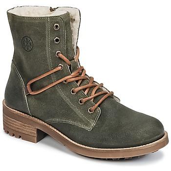Schuhe Mädchen Boots Bullboxer CHEWIM Kaki