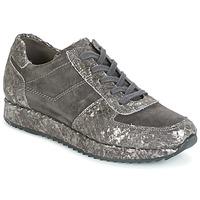 Schuhe Damen Sneaker Low Perlato TINA Grau