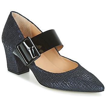 Schuhe Damen Pumps Perlato JESSY Blau / Schwarz