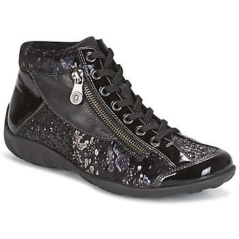 Schuhe Damen Sneaker High Remonte Dorndorf DORA Schwarz