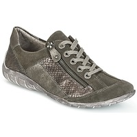 Schuhe Damen Sneaker Low Remonte Dorndorf POLINE Grau /  Nacrée
