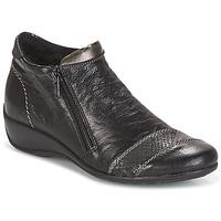 Schuhe Damen Boots Remonte Dorndorf LOUNA Schwarz