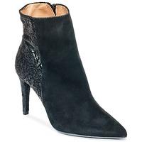 Schuhe Damen Low Boots Fericelli HOLGI Schwarz