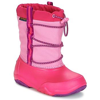 Schuhe Mädchen Schneestiefel Crocs Swiftwater waterproof boot Pink