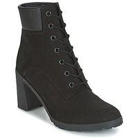 Schuhe Damen Low Boots Timberland ALLINGTON 6IN LACE UP Schwarz