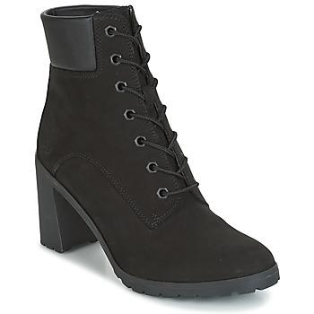 Schuhe Damen Low Boots Timberland ALLINGTON 6IN LACE UP Schwarz