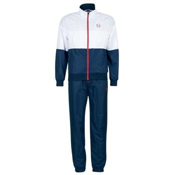 Kleidung Herren Jogginganzüge Sergio Tacchini LACKSON TRACKSUIT Marine / Weiss