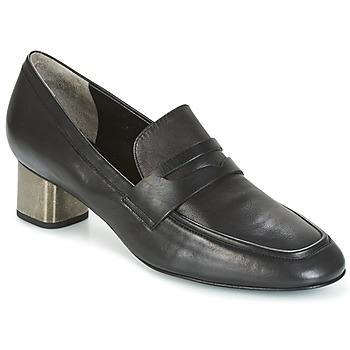 Schuhe Damen Slip on Robert Clergerie POVIA-AGNEAU-NOIR Schwarz