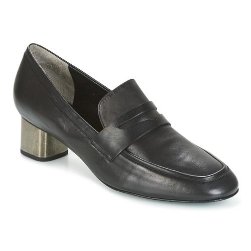 Robert Clergerie POVIA-AGNEAU-NOIR Schwarz Schuhe Slip on Damen 212,50