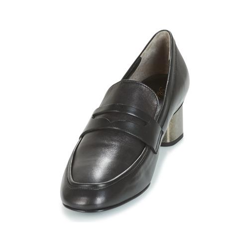 Robert Clergerie POVIA-AGNEAU-NOIR Schwarz  Schuhe Slip 212,50 on Damen 212,50 Slip a64990
