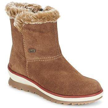 Schuhe Damen Boots Rieker BATIA Camel