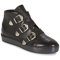 Schuhe Damen Sneaker High Dream in Green HAVER Schwarz