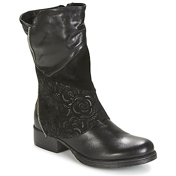 Schuhe Damen Boots Dream in Green HANPI Schwarz