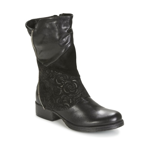 Dream in Green HANPI Schwarz Schuhe Boots Damen 108