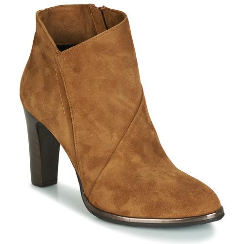 Myma PELOUR Cognac  Schuhe Low Boots Damen 139