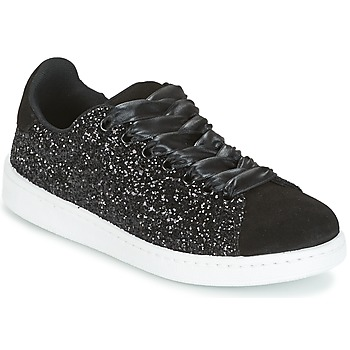 Schuhe Damen Sneaker Low Yurban HELVINE Schwarz