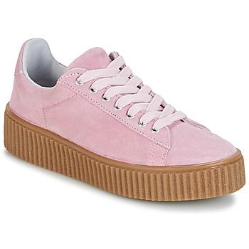 Schuhe Damen Sneaker Low Yurban HADIL Rose