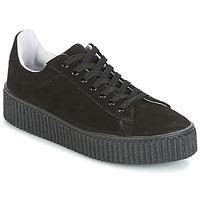 Schuhe Damen Sneaker Low Yurban HADIL Schwarz